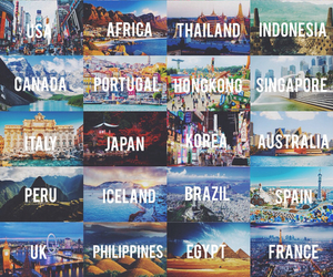 travel, world, and country image