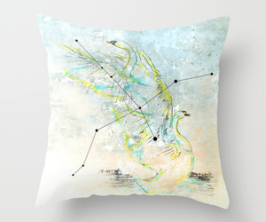 art illustration, home decor, and throw pillow image
