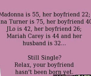 boyfriend, madonna, and single image