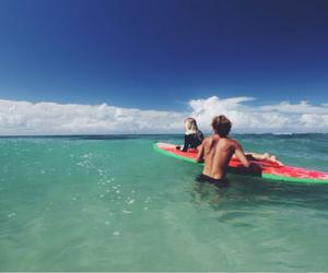 beach, model, and jay alvarrez image
