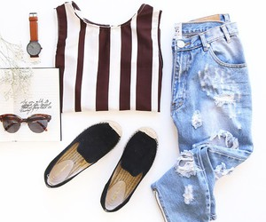 clothes, denim, and fashion image