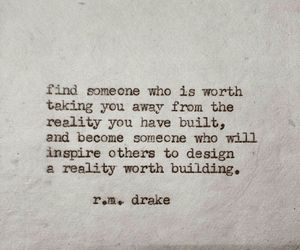 quote, love, and r.m. drake image