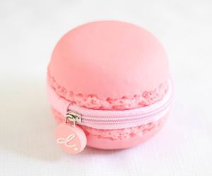 pink, cute, and macaroons image