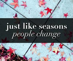 people, season, and change image