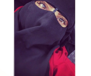 covered and niqab image