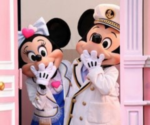 disney, mickey, and minnie image