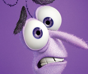 inside out, disney, and fear image