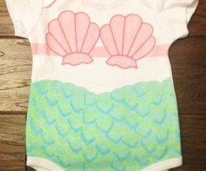 ariel, baby, and little mermaid image