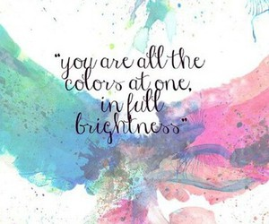books, colors, and quotes image