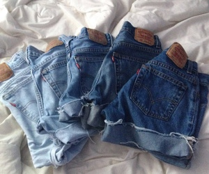 jeans, blue, and fashion image
