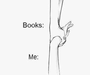 books, fandom, and hands image