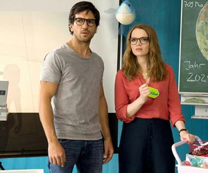 couple, karoline herfurth, and elyas m'barek image