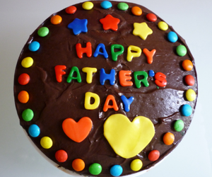 Fathers Day and fathers day cake image