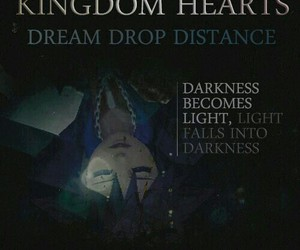 kingdom hearts, sora, and dream drop distance image