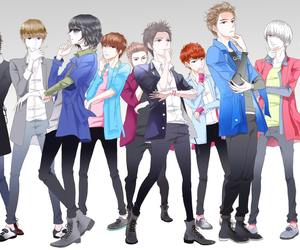 super junior, anime, and kpop image