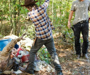 zombies, the walking dead, and andrew lincoln image