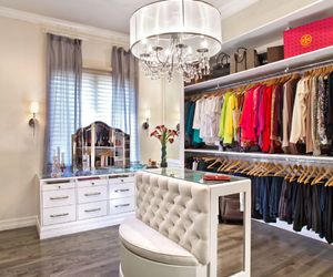 closet, home, and luxury image