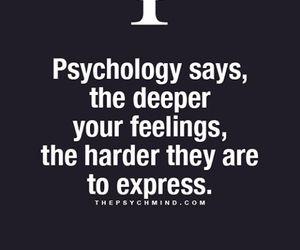 feelings, psychology, and deep image