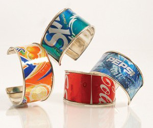 bracelets, can, and diy image