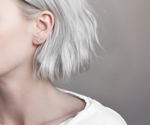 aesthetic, earrings, and pale image