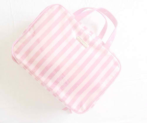 bag, pastel, and pink image