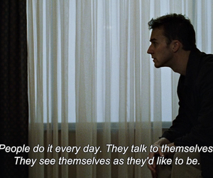 fight club, film, and frases image