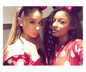 ariana grande, disneyland, and victoria monet image