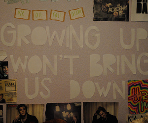 text, the maine, and growing up image
