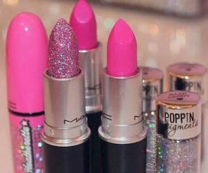 lipstick, pink, and mac image
