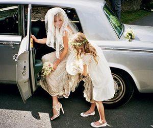wedding, kate moss, and bride image