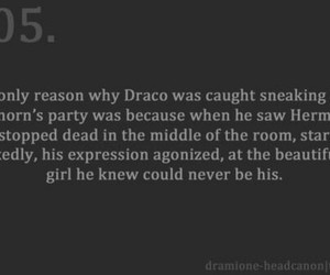draco malfoy, forbidden, and harry potter image