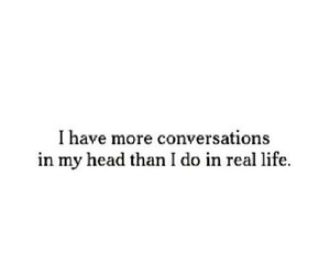 conversation and head image