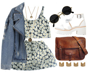 flowers, nirvana, and Polyvore image