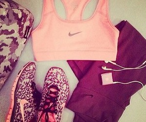 clothes, fitness, and nike image
