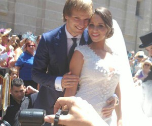 raquel, wedding, and rakitic image