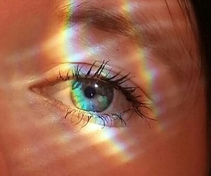beauty, color, and eye image