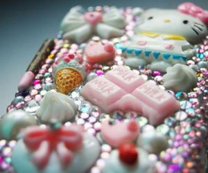 case, pink, and hearts image