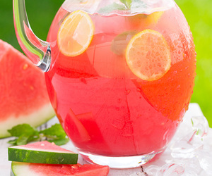 drink, healthy, and mint image