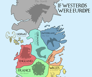 map, got, and game of thrones image