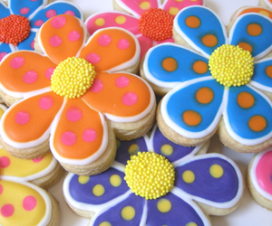 Cookies, flowers, and sweets image