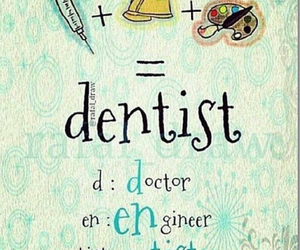 dentist, artist, and Dental image