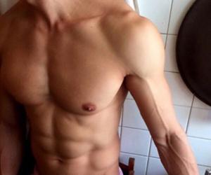 boy, biceps, and instagram image
