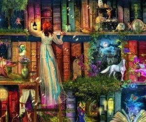 book and fantasy image