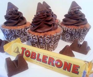 cupcake and toblerone image