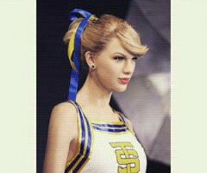 cheerleader, girl, and Taylor Swift image