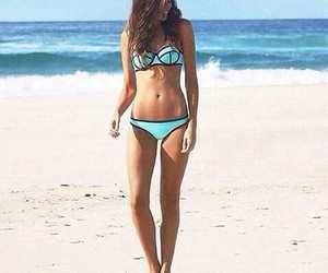 bikini, fashion, and hair image