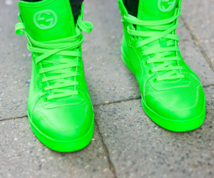 green, gucci, and neon image