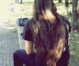 brown, guys with long hair, and long haired men image
