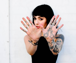 tattoo, girl, and hannah snowdon image