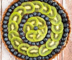 cake, fruit, and healthy image